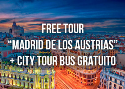 FREE TOUR MADRID + CITY TOUR BUS GRATUITO