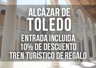 VISITA GUIADA POR EL INTERIOR DEL ALCÁZAR DE TOLEDO CON ENTRADA INCLUIDA