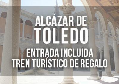 Visita guiada al Alcázar de Toledo con entrada incluida