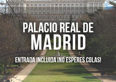 VISITA GUIADA AL PALACIO REAL CON ENTRADA INCLUIDA