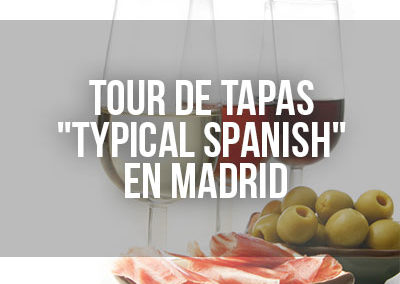 Tour de tapas por Madrid