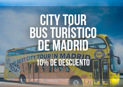 CITY TOUR BUS TURÍSTICO DE MADRID