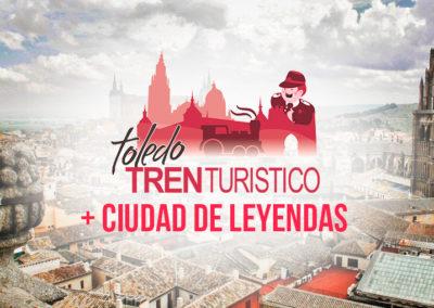 TOLEDO TREN TURÍSTICO + CIUDAD DE LEYENDAS