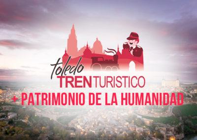 TOLEDO TREN TURÍSTICO + PATRIMONIO DE LA HUMANIDAD
