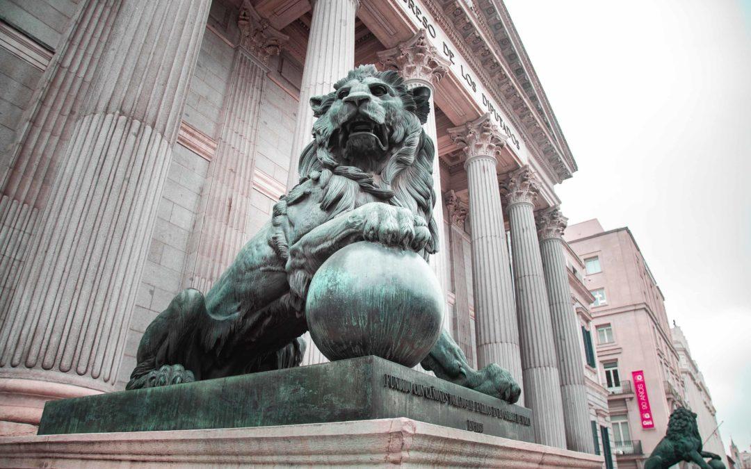 Los leones del Congreso