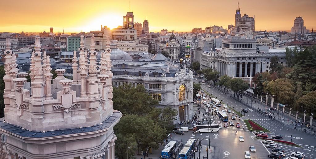 De Madrid al cielo… miradores y parques